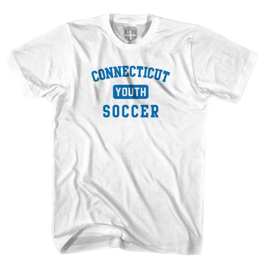Connecticut Youth Soccer T-shirt in White by Neutral FC