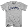 Cozumel City Vintage T-shirt-Adult