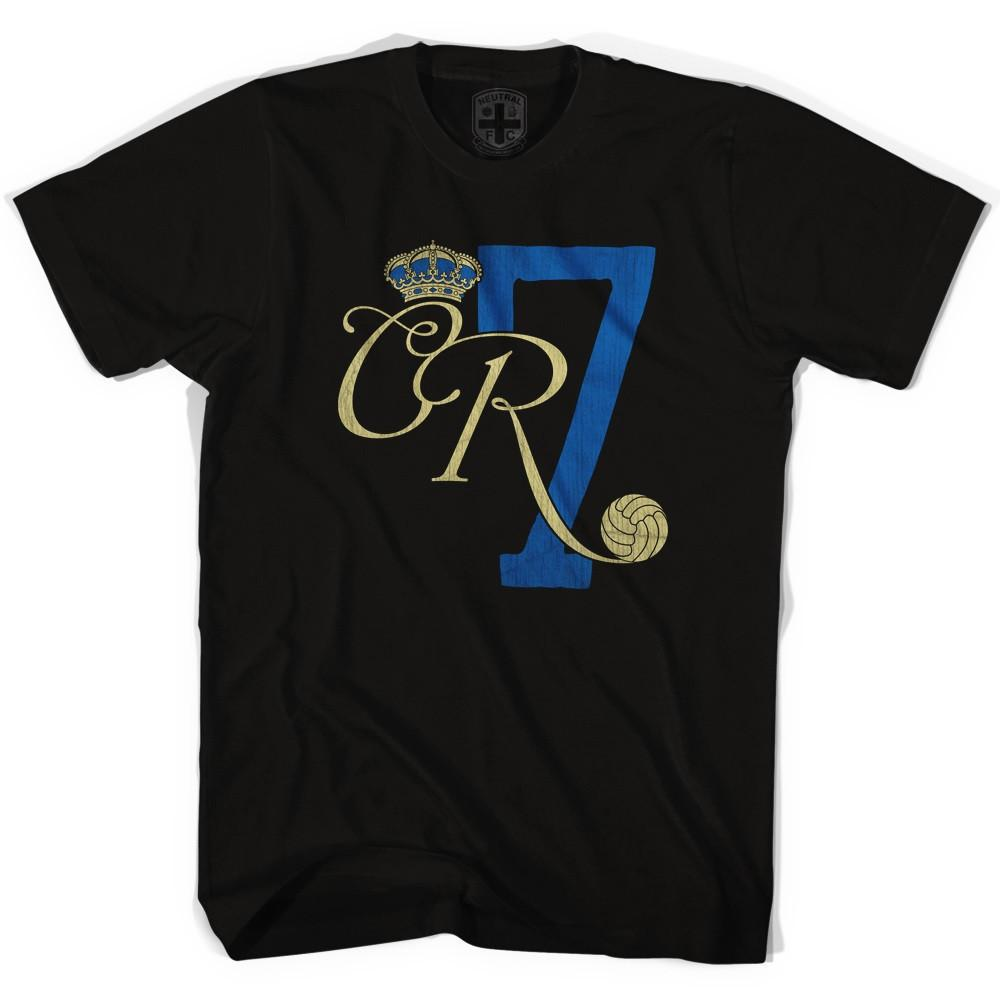 Ronaldo CR7 Black T-shirt in Black by Neutral FC