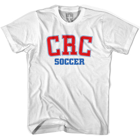 Costa Rica CRC Soccer Country Code T-shirt