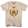 Bacelona Orignial Crest T-shirt in Creme by Neutral FC