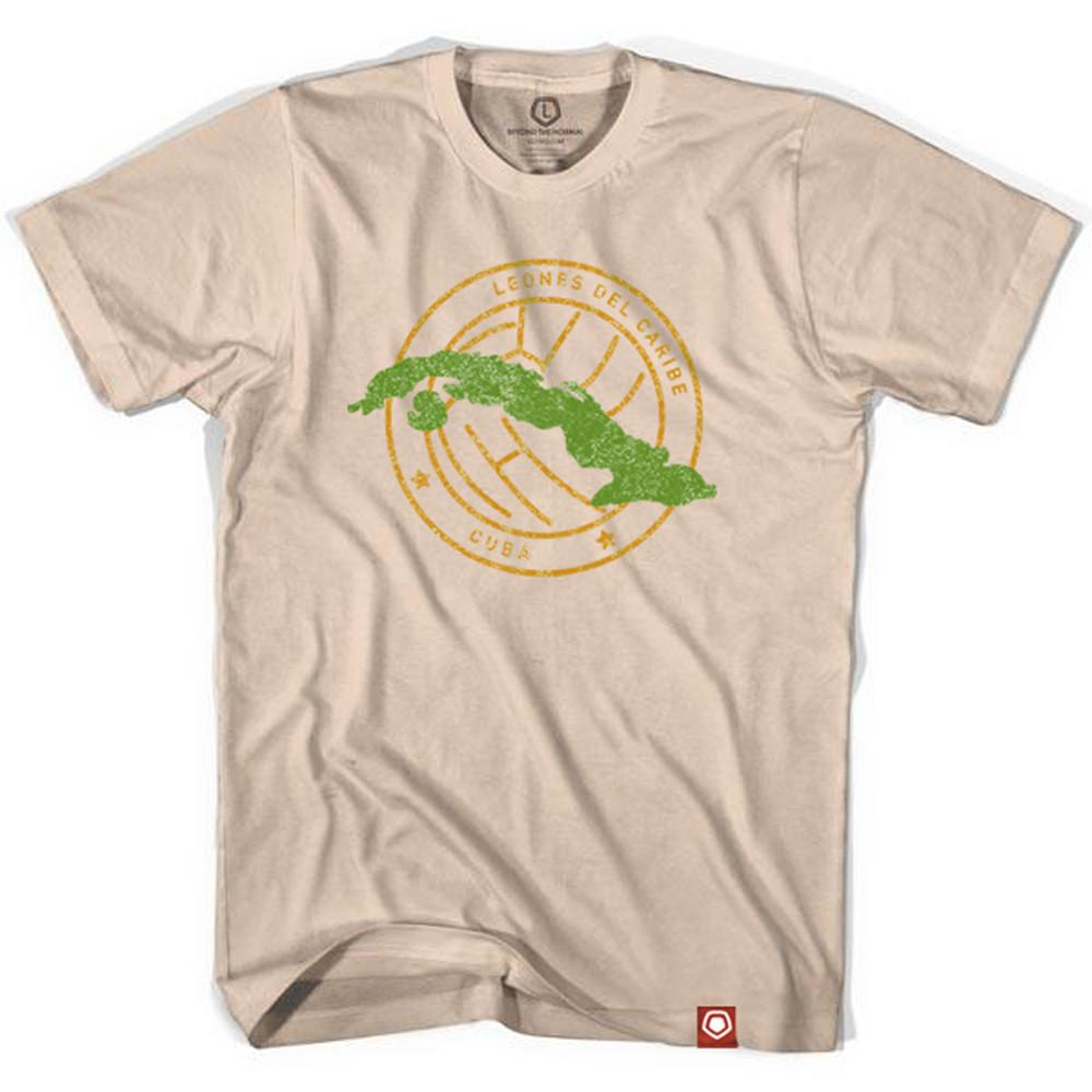 Cuba Crest Soccer T-shirt in Creme by Neutral FC