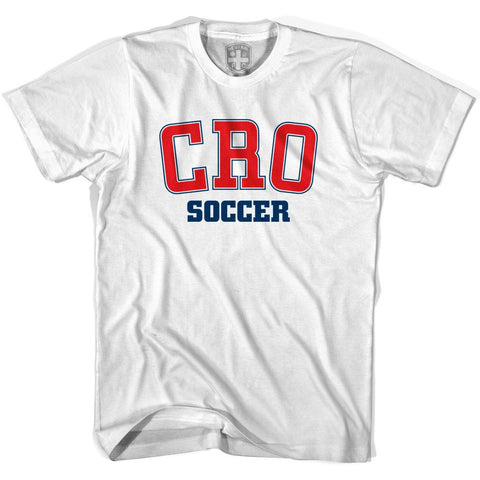 Croatia CRO Soccer Country Code T-shirt