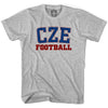 Czech CZE Soccer T-shirt in White by Neutral FC