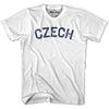Czech City Vintage T-shirt in Grey Heather by Mile End Sportswear