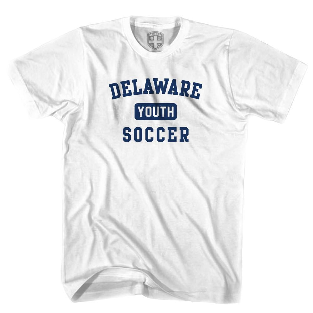 Delaware Youth Soccer T-shirt in White by Neutral FC