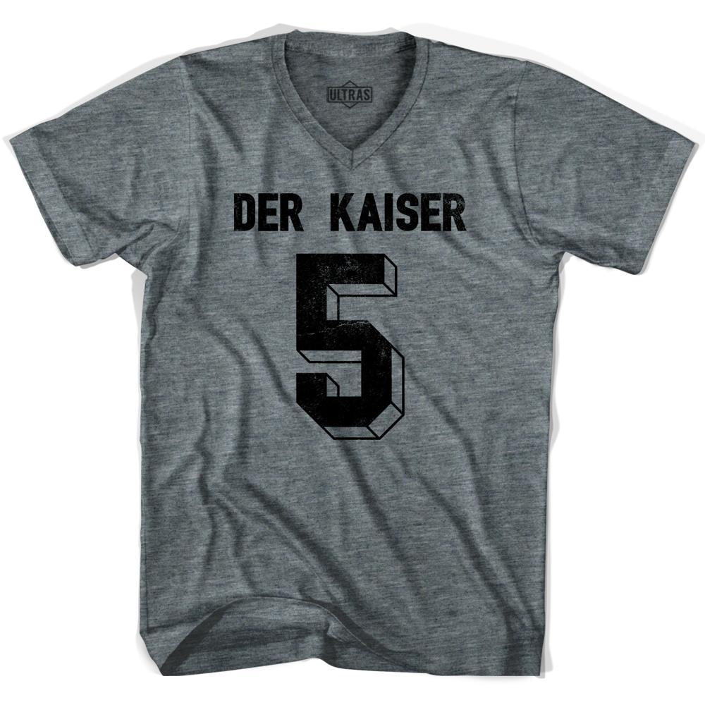 Ultras Der Kaiser 5 Soccer V-neck T-shirt by Ultras