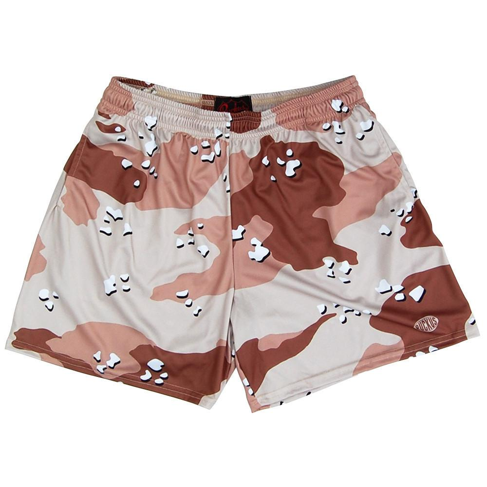 Desert Storm Army Camo Rugby Shorts in Camo by Ruckus Rugby