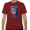 Dos Y Cero (Again Revised) Soccer T-shirt in Dark Red by Neutral FC