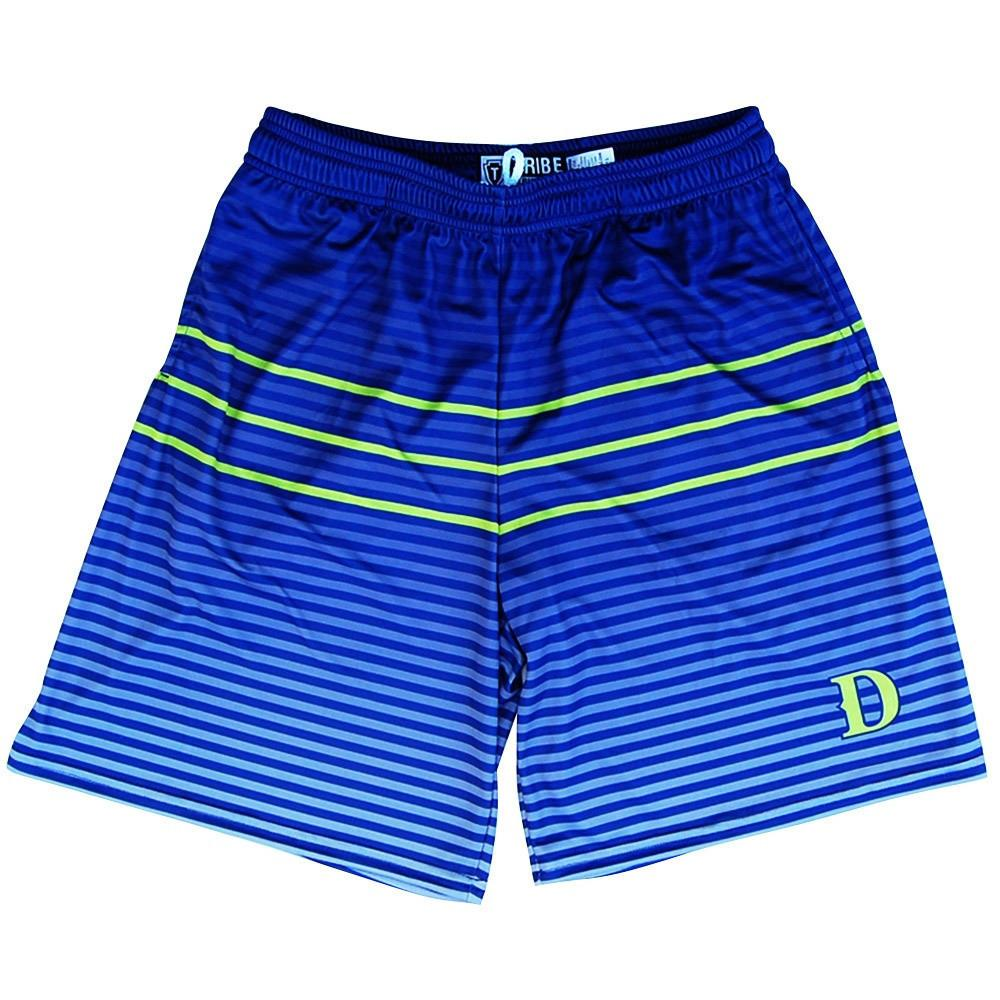 Santa Monica Dragons D Lacrosse Shorts in Navy by Tribe Lacrosse