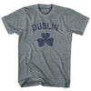 Dublin Adult Tri-Blend T-Shirt by Ultras