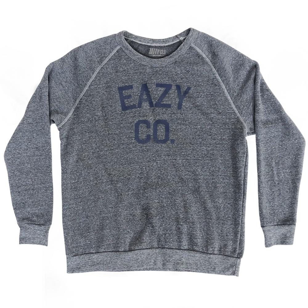 Eazy Co Adult Tri-Blend Sweatshirt by Ultras