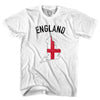 England Flag & Country T-shirt in White by Neutral FC