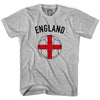 England Soccer Ball T-shirt in White by Neutral FC