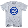 El Salvador ES Silver T-shirt in Cool Grey by Neutral FC