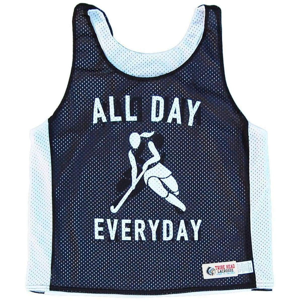 Field Hockey All Day Everyday Racerback Pinnie - Graphic Lacrosse Pinnies