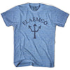 Flamenco Trident T-shirt in Athletic Blue by Life On the Strand