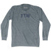 Ftw Adult Tri-Blend Long Sleeve T-Shirt
