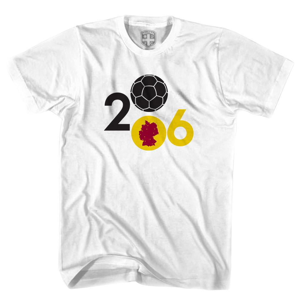 Germany 2006 World Cup T-shirt in White by Neutral FC