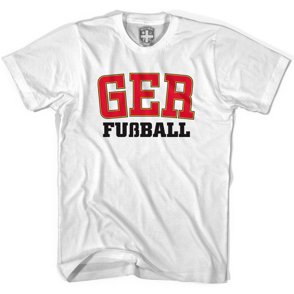 Germany GER T-shirt in White by Neutral FC
