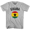 Ghana Soccer Ball T-shirt in White by Neutral FC