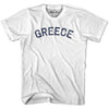 Greece City Vintage T-shirt in Grey Heather by Mile End Sportswear