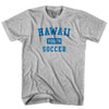 Hawaii Youth Soccer T-shirt in White by Neutral FC