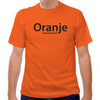 Holland Oranje Total Voetbal T-shirt in Orange by Neutral FC