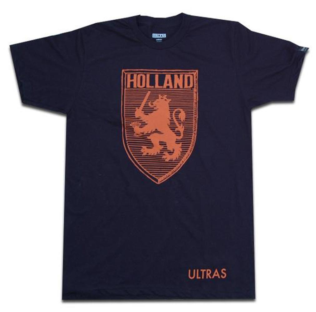 Holland Lion Crest T-Shirt in Black by Neutral FC