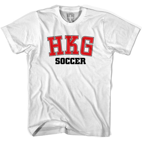 Hong Kong HKG Soccer Country Code T-shirt