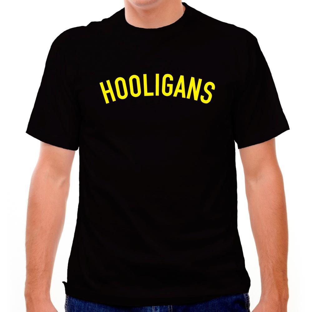 Hooligans T-shirt in Black by Neutral FC