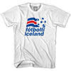 Iceland Soccer T-shirt in White by Neutral FC