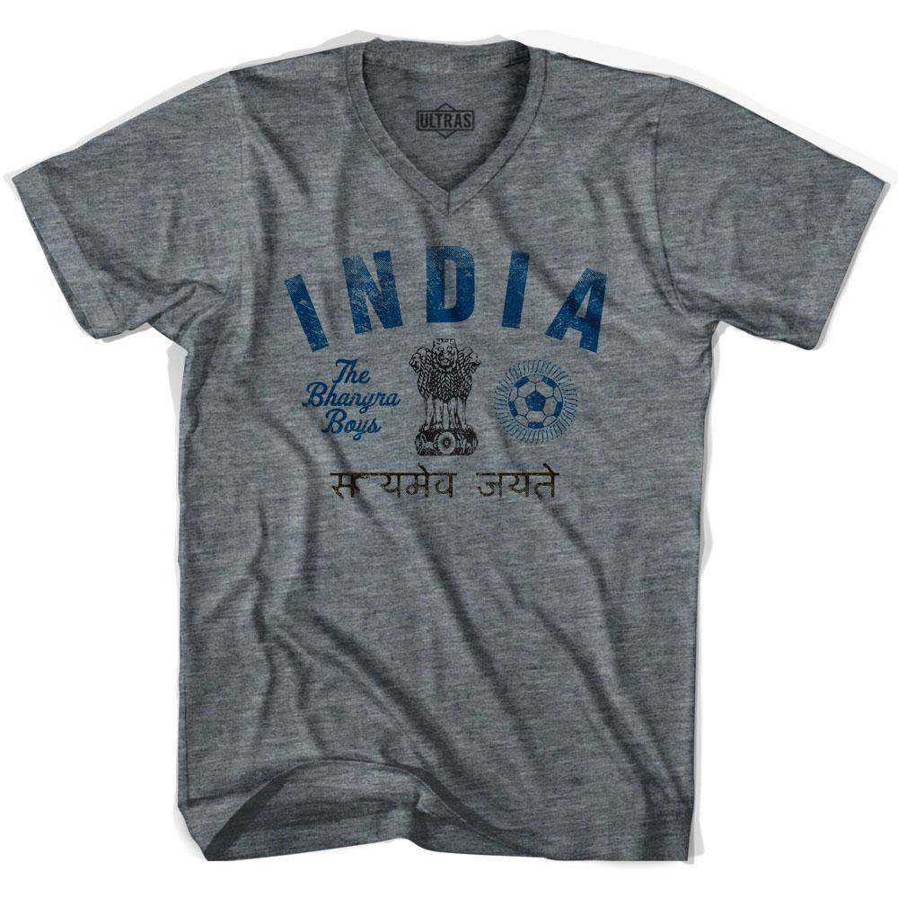 Ultras India Soccer V-neck T-shirt by Ultras