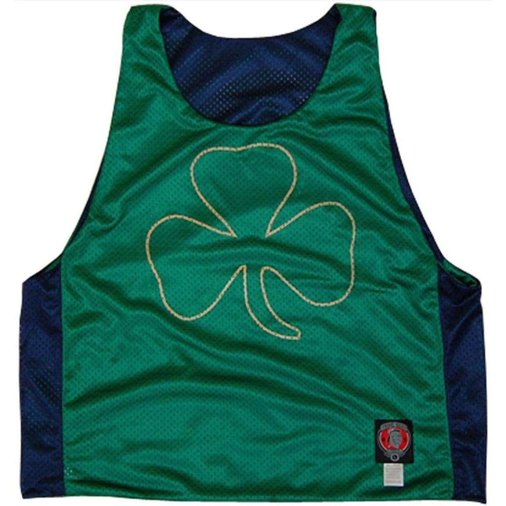 Ireland Clover Lacrosse Pinnie - Graphic Mesh Lacrosse Pinnies
