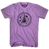 Iroquios Passport T-shirt in Tri-Orchid by Tribe Lacrosse