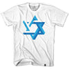 Israel Star T-shirt in White by Neutral FC