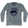 Ultras Italy Wolf Soccer Long Sleeve T-shirt by Ultras