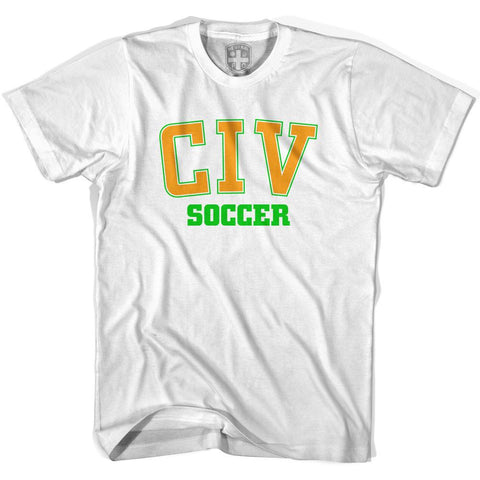 Ivory Coast CIV Soccer Country Code T-shirt