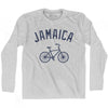 Jamaica Vintage Bike Long Sleeve T-shirt