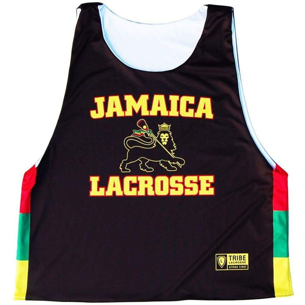 Jamaica Lion Lacrosse Sublimated Pinnie - Graphic Lacrosse Pinnies