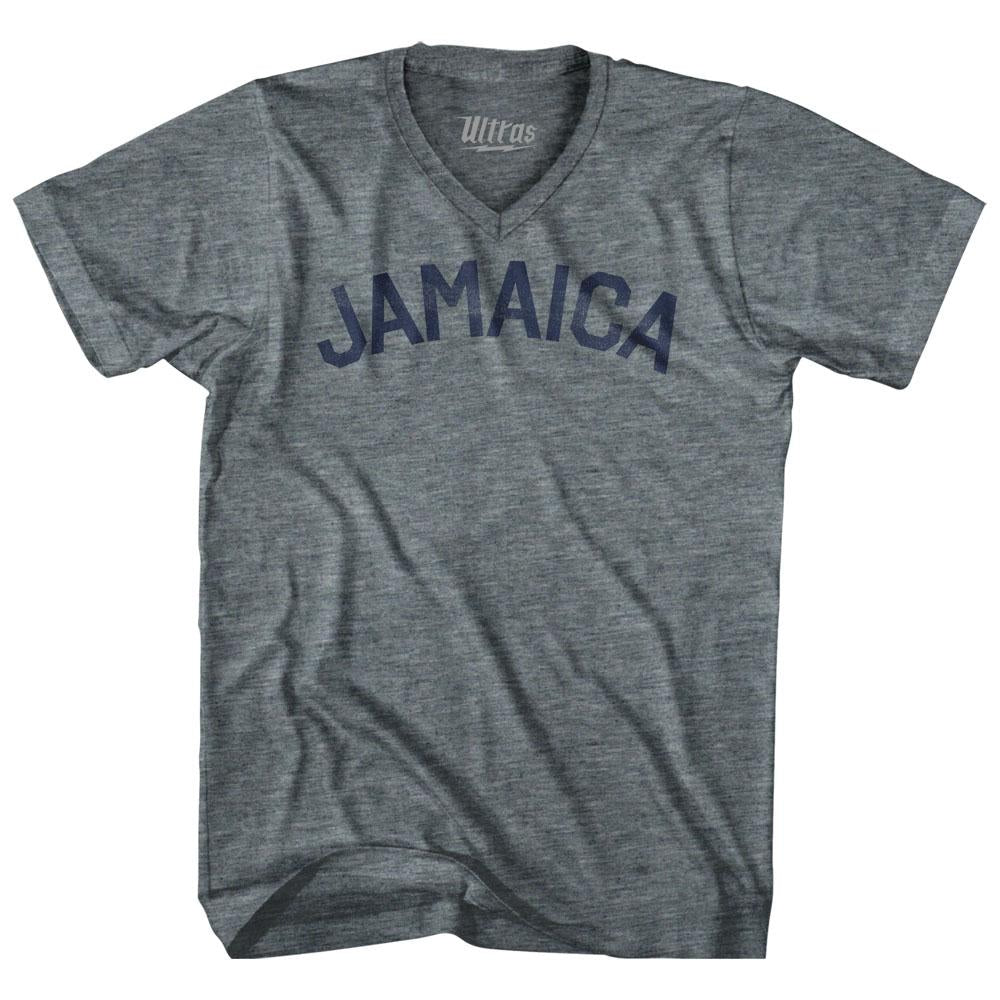 Jamaica City Vintage V-neck T-shirt