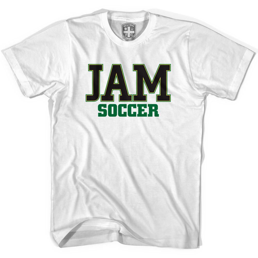 Jamaica JAM Soccer T-shirt in White by Neutral FC