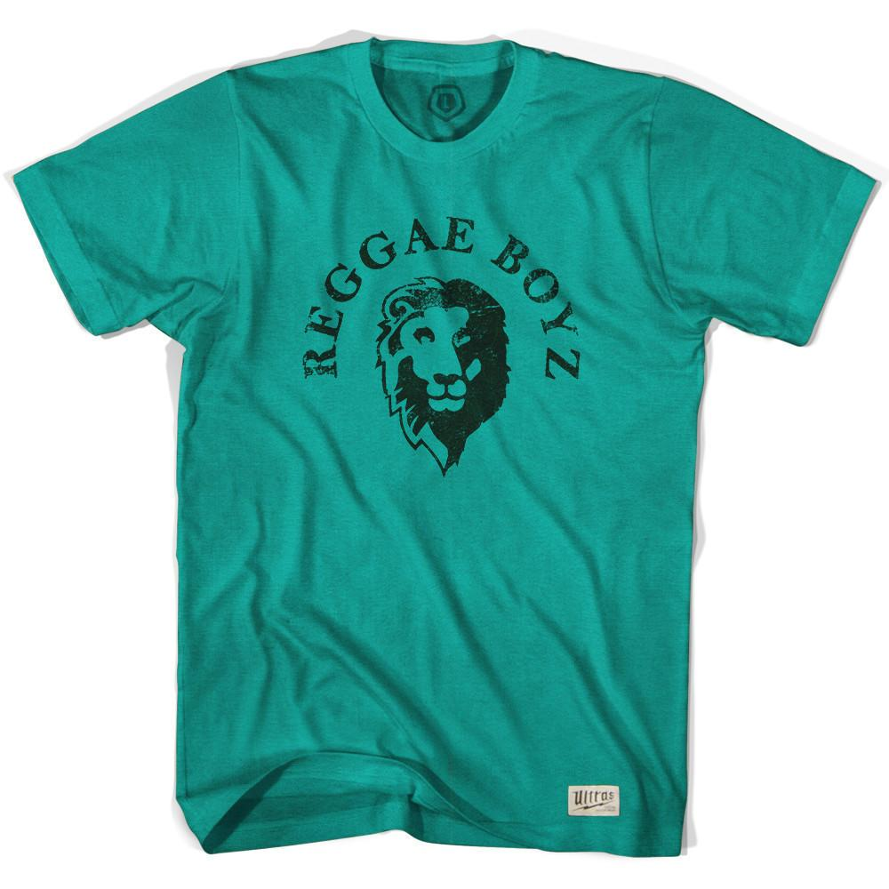 Jamaica Raggae Boys Lions T-shirt in Grass by Neutral FC