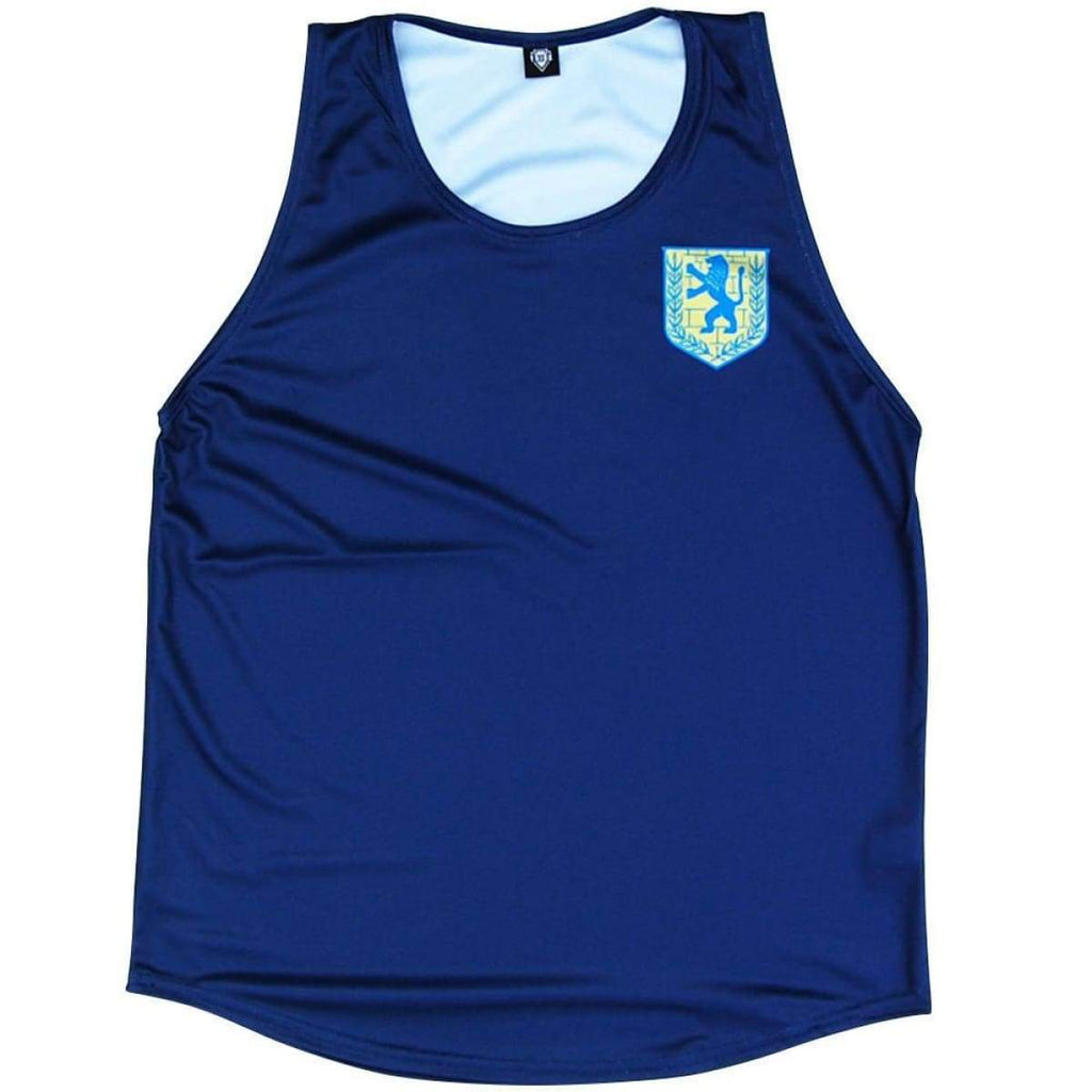 Jerusalum Lion Crest Sport Tank - Navy / Youth X-Small - Tank Top