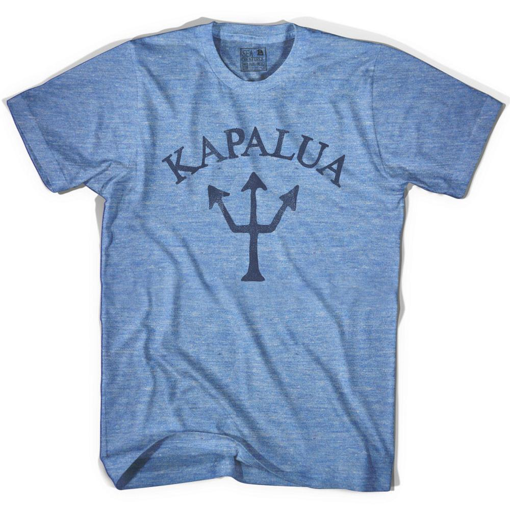 Kapalua Trident T-shirt in Athletic Blue by Life On the Strand