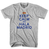 Keep Calm & Hala Madrid T-shirt in White by Neutral FC