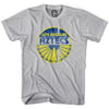 Los Angeles Aztecs Circle T-shirt in Cool Grey by Neutral FC