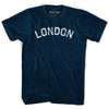 London Vintage City T-shirt in Navy by Mile End Sportswear