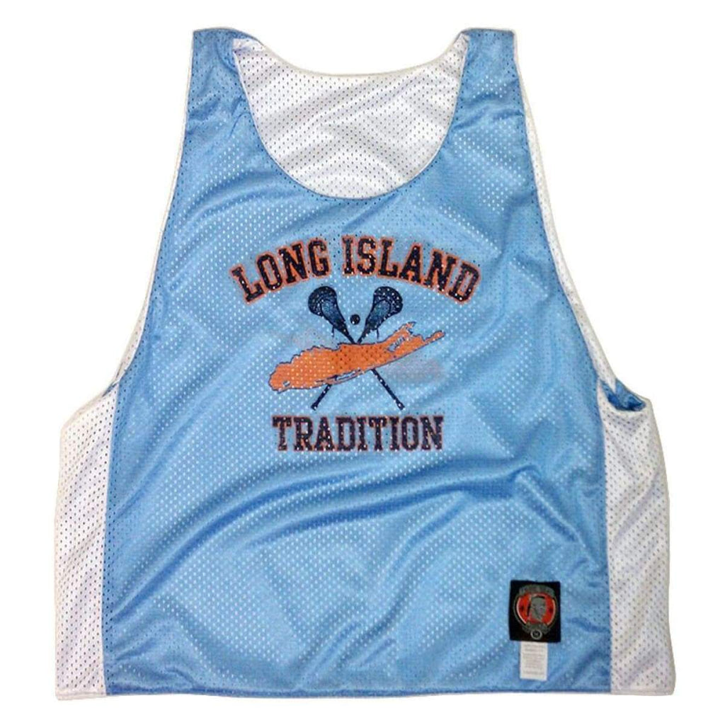 Long Island Lacrosse Pinnie - Graphic Mesh Lacrosse Pinnies