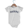 Madeira City Infant Onesie in White by Mile End Sportswear